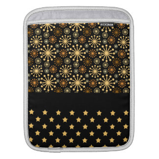 Pretty Snowflakes and Stars iPad Sleeve