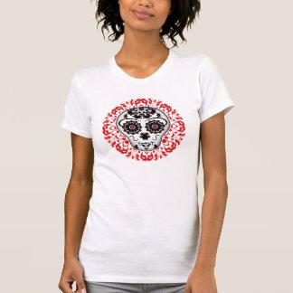 Pretty sugar skull design T-Shirt