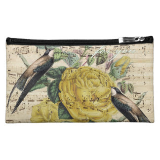 Pretty Swallow Song Cosmetic Bag