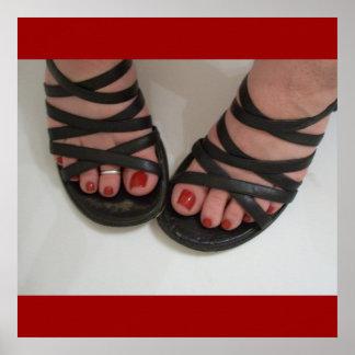 Pretty Toes Print