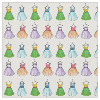 Pretty Vintage Party Dresses Fabric