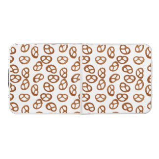 Pretzels Snack seamless pattern + your background Beer Pong Table