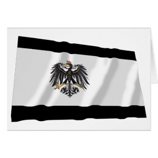 Preussen (1892-1918) Prussia Flag Card