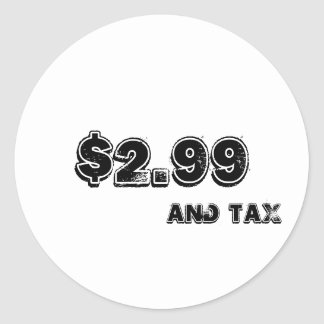 Price Label With Tax