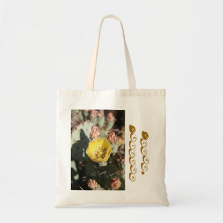 Prickly Pear Cactus,  Globe, Arizona Tote Bag