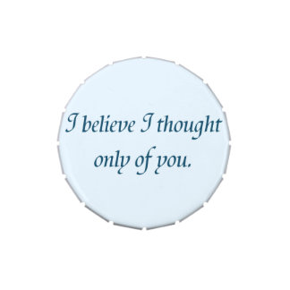 Pride and Prejudice Quote Jelly Belly Tin