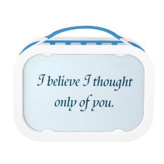 Pride and Prejudice Quote Lunchbox