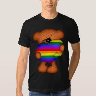 Pride Heart Teddy Bear T Shirts