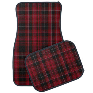 Pride of Wales Tartan Plaid Car Mat Set