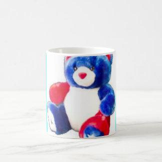 pridebear basic white mug