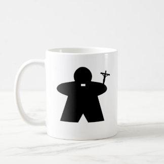 Priest and Nun Meeple mug
