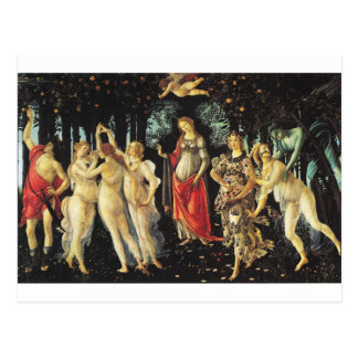 Primavera by Sandro Botticelli Postcard