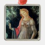 Primavera, detail of Venus, c.1478 Christmas Tree Ornament