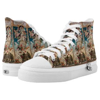 """""""Primavera en Sevilla"""" art shoes"""