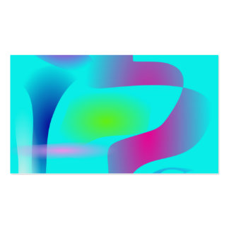 Primitive Abstract Art Cool Business Cards