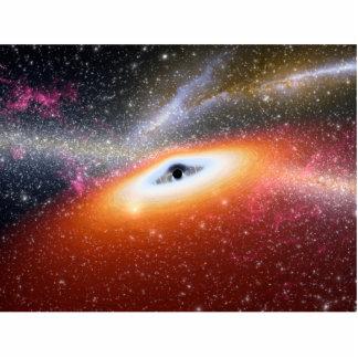 Primitive Black Hole Space Art Photo Cutouts