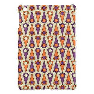 Primitive Purple & Orange Borneo Pattern Case For The iPad Mini