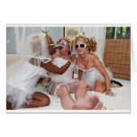 Primping for Muriels Wedding Stationery Note Card