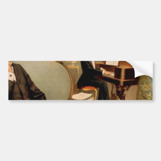 Primrose & West's, 'The Fatal Wedding' Vintage The Car Bumper Sticker