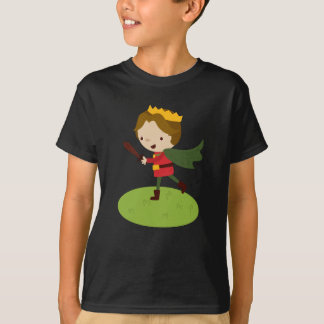 Prince Liam's Charge from Fairy Tale Kingdon T-Shirt