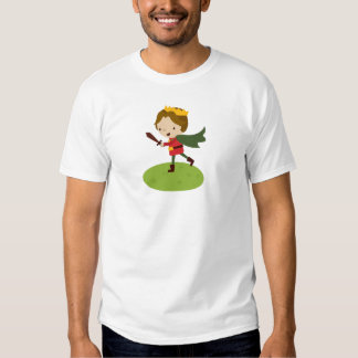 Prince Liam's Charge from Fairy Tale Kingdon Tees
