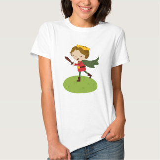 Prince Liam's Charge from Fairy Tale Kingdon Tshirt