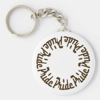 Prince Paulson - Seven Deadly Sins - PRIDE Basic Round Button Key Ring