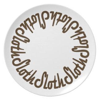 Prince Paulson - Seven Deadly Sins - SLOTH Plate