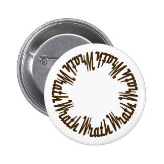 Prince Paulson - Seven Deadly Sins - WRATH 6 Cm Round Badge