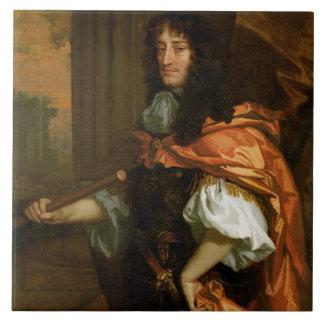 Prince Rupert (1619-82), c.1666-71 (oil on canvas) Tile