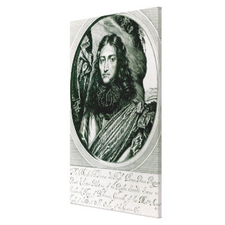 Prince Rupert of the Rhine engraved by William Canvas Print
