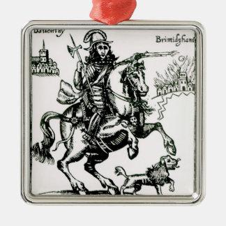 Prince Rupert on Horseback Christmas Ornament