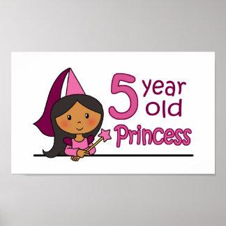 Princess Age 5 Posters