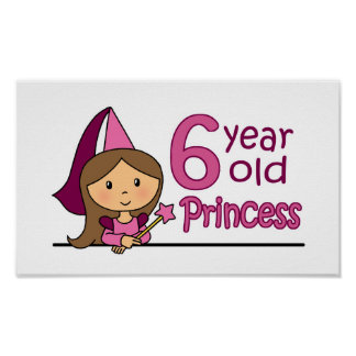 Princess Age 6 Poster