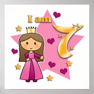 Princess Age 7 Poster