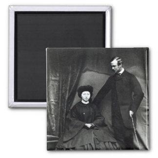 Princess Alice and Prince Ludwig of Hesse, 1860 Magnet