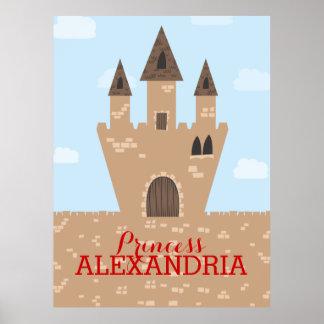 Princess Castle Posters