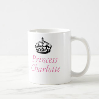 Princess Charlotte and British crown Coffee Mug