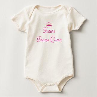 princess-crown-md, Future Drama Queen Baby Bodysuit
