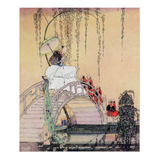 Princess Diaphanie by Kay Nielsen Poster