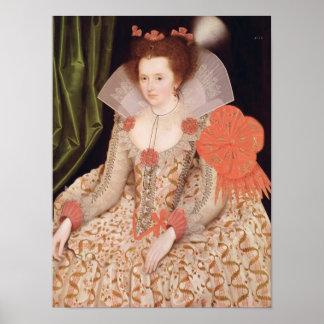 Princess Elizabeth, daughter of James I, 1612 Poster