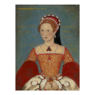 Princess Mary Portrait Poster or Fine Art Print