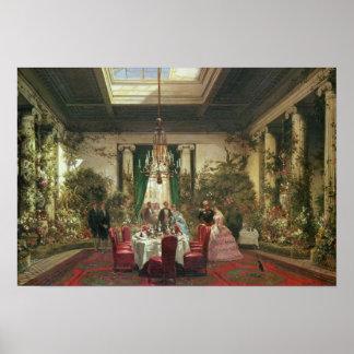 Princess Mathilde's Salle-a-Manger Poster