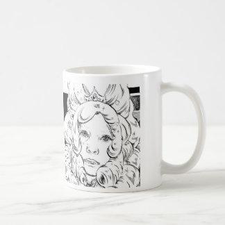 Princess Basic White Mug