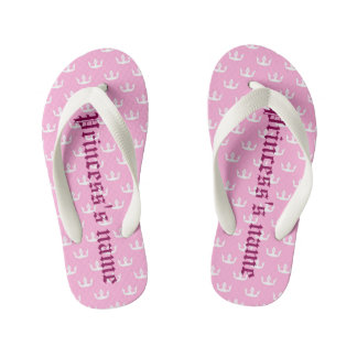Princess… name of the young girl kid's jandals