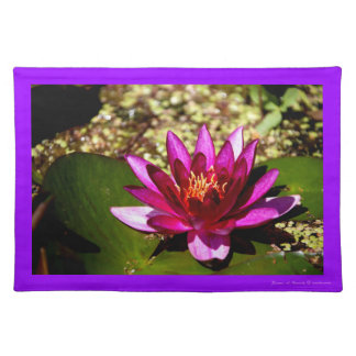 Princess of the Pond Holiday Floral Design Placemat
