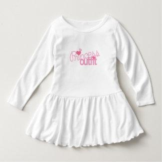 Princess Outfit Toddler Ruffle Dress