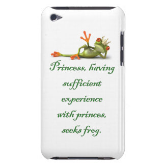 Princess Seeks Frog iPod iPod Touch Case