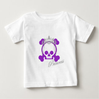 Princess Skull Baby T-Shirt
