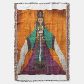Princess TaiPing Throw Blanket